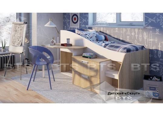 Детская кровать Скаут (BTS)