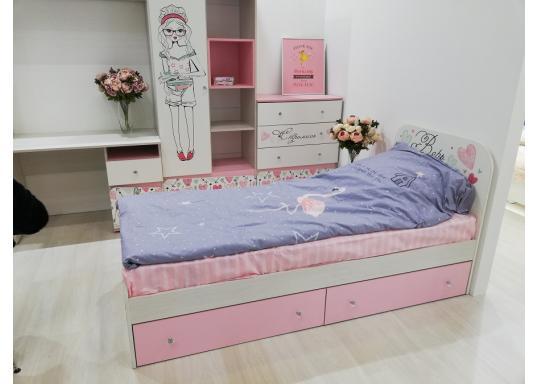Детская кровать Малибу (БТС)