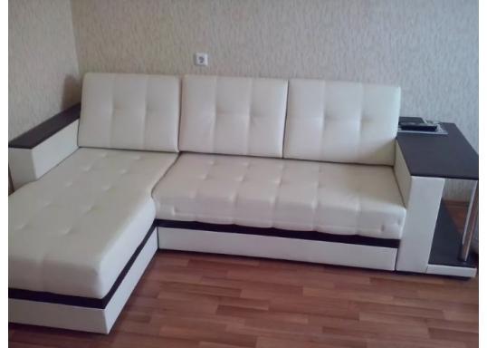 Угловой диван Атлант (Белый)