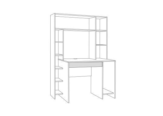 Компьютерный стол Комфорт 12.71