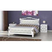 Кровать Карина 11 Белый Жемчуг