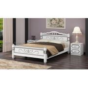 Кровать Карина 5 Белый Жемчуг