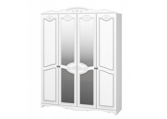 Шкаф ШР4 Лотос (Лак: Белый жемчуг)