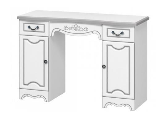 Стол туалетный Лотос (Лак: Белый жемчуг)