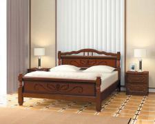 Кровать Карина-5 (Орех)