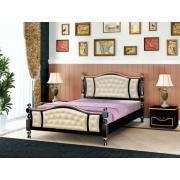 Кровать Жасмин (Орех темный)