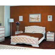 Кровать Карина-10 (Дуб Молочный)