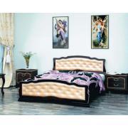 Кровать Карина-10 (Орех темный)