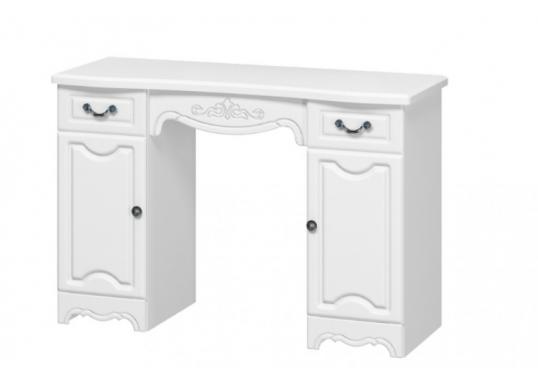 Макияжный стол Лотос (Белый)