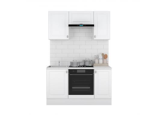 Кухня Ева 1.5 Белый Софт