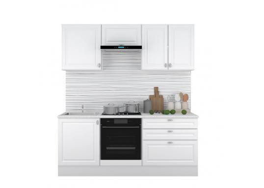 Кухня Ева 2.0 Белый Софт
