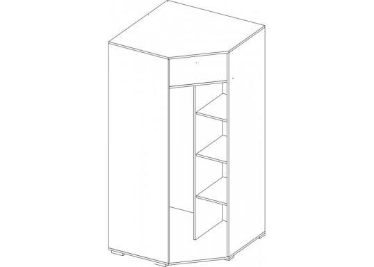 Угловой шкаф Вегас